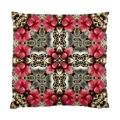 Flowers Fabric Standard Cushion Case (One Side)