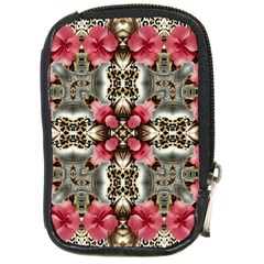 Flowers Fabric Compact Camera Cases