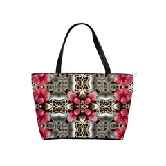 Flowers Fabric Shoulder Handbags