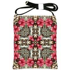 Flowers Fabric Shoulder Sling Bags