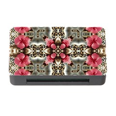 Flowers Fabric Memory Card Reader With Cf