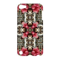 Flowers Fabric Apple Ipod Touch 5 Hardshell Case