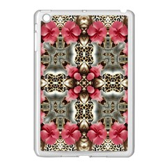 Flowers Fabric Apple Ipad Mini Case (white)