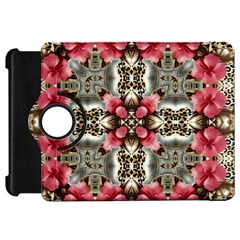 Flowers Fabric Kindle Fire Hd 7