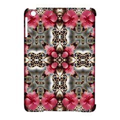 Flowers Fabric Apple Ipad Mini Hardshell Case (compatible With Smart Cover)