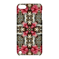 Flowers Fabric Apple Ipod Touch 5 Hardshell Case With Stand