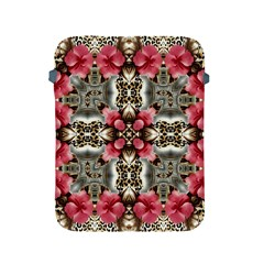 Flowers Fabric Apple Ipad 2/3/4 Protective Soft Cases