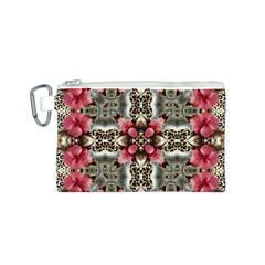 Flowers Fabric Canvas Cosmetic Bag (s)