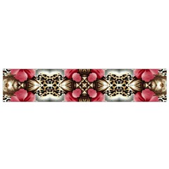 Flowers Fabric Flano Scarf (Small)