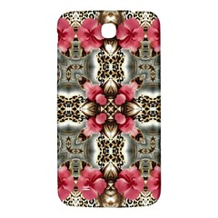 Flowers Fabric Samsung Galaxy Mega I9200 Hardshell Back Case