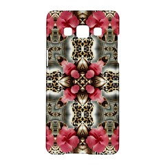 Flowers Fabric Samsung Galaxy A5 Hardshell Case