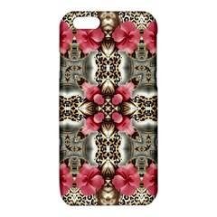 Flowers Fabric iPhone 6/6S TPU Case