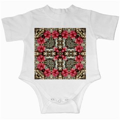 Flowers Fabric Infant Creepers