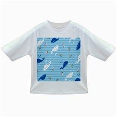Whaling Ship Blue Sea Beach Animals Infant/toddler T Shirts