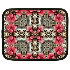 Flowers Fabric Netbook Case (xl)