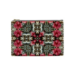 Flowers Fabric Cosmetic Bag (medium)