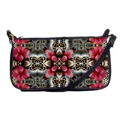 Flowers Fabric Shoulder Clutch Bags