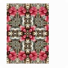 Flowers Fabric Large Garden Flag (two Sides)