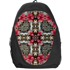 Flowers Fabric Backpack Bag