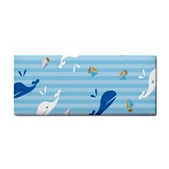 Whaling Ship Blue Sea Beach Animals Cosmetic Storage Cases