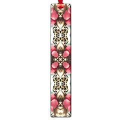 Flowers Fabric Large Book Marks