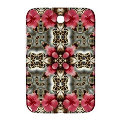 Flowers Fabric Samsung Galaxy Note 8 0 N5100 Hardshell Case