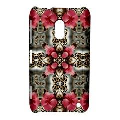 Flowers Fabric Nokia Lumia 620