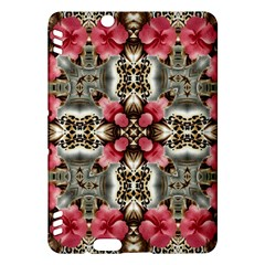 Flowers Fabric Kindle Fire Hdx Hardshell Case