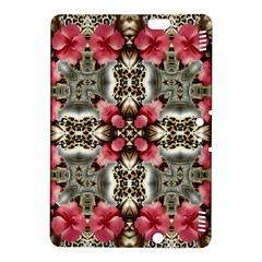 Flowers Fabric Kindle Fire Hdx 8 9  Hardshell Case