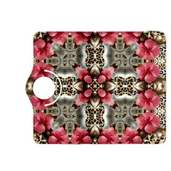 Flowers Fabric Kindle Fire Hdx 8 9  Flip 360 Case
