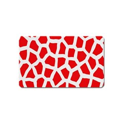 Animal Animalistic Pattern Magnet (name Card)