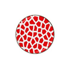 Animal Animalistic Pattern Hat Clip Ball Marker (4 Pack)