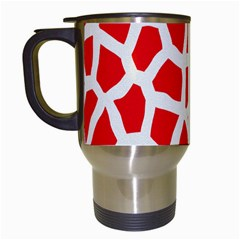 Animal Animalistic Pattern Travel Mugs (white)