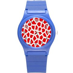 Animal Animalistic Pattern Round Plastic Sport Watch (s)