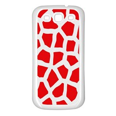 Animal Animalistic Pattern Samsung Galaxy S3 Back Case (white)