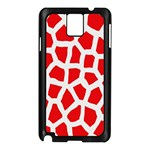 Animal Animalistic Pattern Samsung Galaxy Note 3 N9005 Case (Black) Front