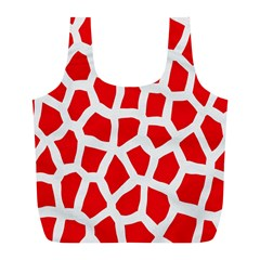 Animal Animalistic Pattern Full Print Recycle Bags (L)