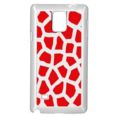 Animal Animalistic Pattern Samsung Galaxy Note 4 Case (white)