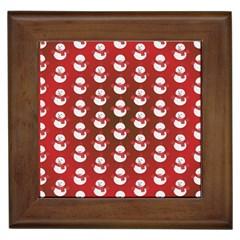 Card Cartoon Christmas Cold Framed Tiles