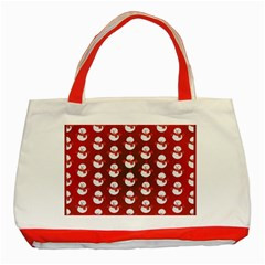 Card Cartoon Christmas Cold Classic Tote Bag (red)