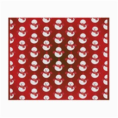 Card Cartoon Christmas Cold Small Glasses Cloth (2 Side)