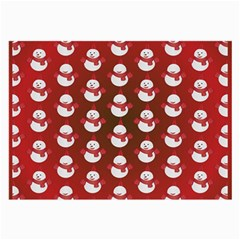 Card Cartoon Christmas Cold Large Glasses Cloth (2 Side)