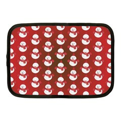 Card Cartoon Christmas Cold Netbook Case (Medium)