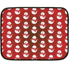 Card Cartoon Christmas Cold Fleece Blanket (mini)