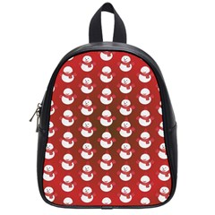Card Cartoon Christmas Cold School Bags (small)