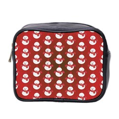 Card Cartoon Christmas Cold Mini Toiletries Bag 2 Side