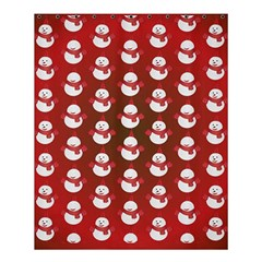 Card Cartoon Christmas Cold Shower Curtain 60  X 72  (medium)