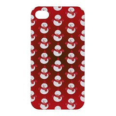 Card Cartoon Christmas Cold Apple Iphone 4/4s Hardshell Case