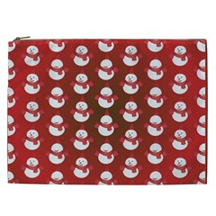 Card Cartoon Christmas Cold Cosmetic Bag (xxl)