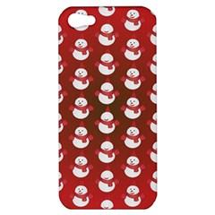 Card Cartoon Christmas Cold Apple Iphone 5 Hardshell Case